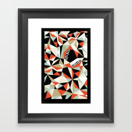 Bebop Butterfly Framed Art Print