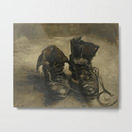Vincent van Gogh - Boots Metal Print