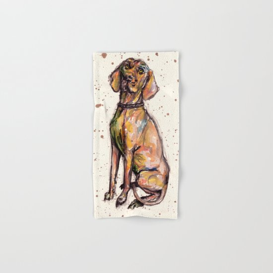 Hungarian Vizsla Dog Hand & Bath Towel