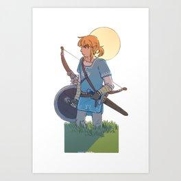 Hero of the Wild Art Print