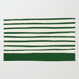 Holiday x Green Stripes Rug