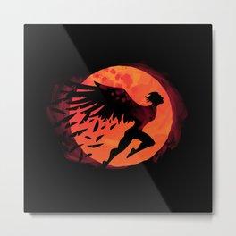 Icarus: Sunset Metal Print