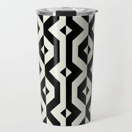 Modern bold print with diamond shapes Travel Mug