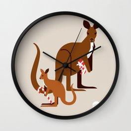 Ms. Roo Wall Clock