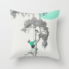 Bravery Throw Pillow