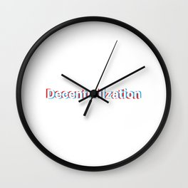 Decentrailization Wall Clock