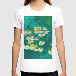 Serene Lotus Pond T-shirt