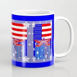 Red-White & Blue 4th of July Celebration Art Coffee Mug