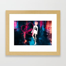BLACKPINK - Jisoo Framed Art Print