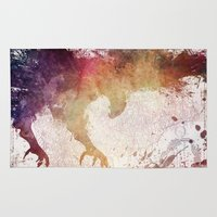 eagle Area & Throw Rugs featuring Eagle by jbjart