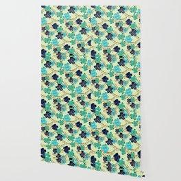 Multicolor elegant floral texture Wallpaper