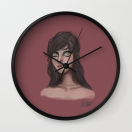 Nina Zenik Wall Clock