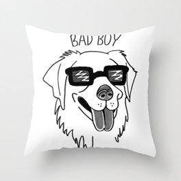 Bad Boy Throw Pillow