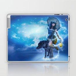 Blue Gothic Night Laptop & iPad Skin