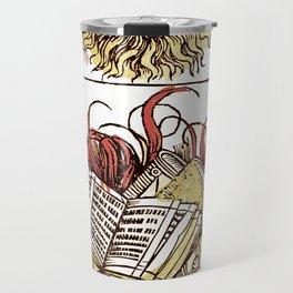 Book Burning Travel Mug