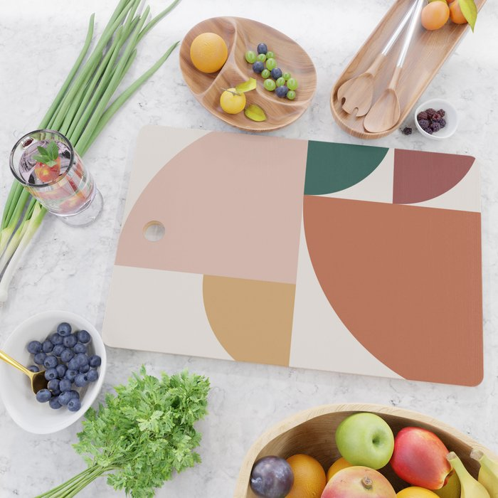 Abstract Geometric 10 Cutting Board