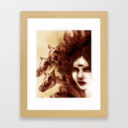 Three Fevers Framed Art Print