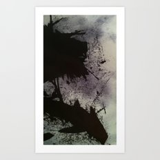 Ink small scale Art Print