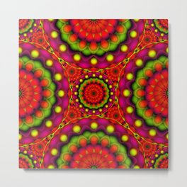 Psychedelic Visions G147 Metal Print