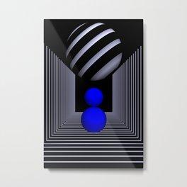 3D-geometry -13- Metal Print
