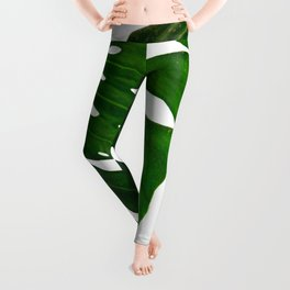 Banana Leaf (Color) Leggings
