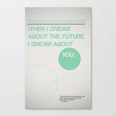 Dream of Future Canvas Print