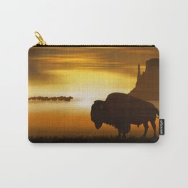 The lonely bison Carry-All Pouch