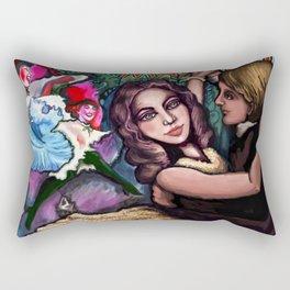 The Merry Widow Rectangular Pillow
