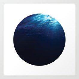 Under Water 8 Art Print