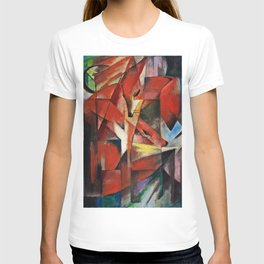 Franz Marc  -  The Foxes T-shirt