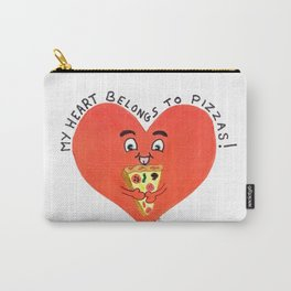 My heart belongs to pizzas Carry-All Pouch