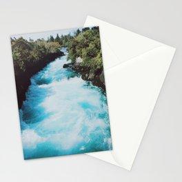 Huka Falls, New Zealand Stationery Cards