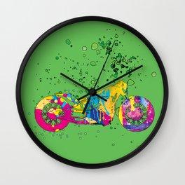 ap127-7 Motorcycle Wall Clock