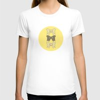 bows T-shirts featuring Vintage Bows part 3  by Ambers Illustration