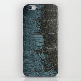 Charcoal Crust - Fractal Art iPhone Skin