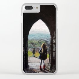 Gazing from the Tor Clear iPhone Case