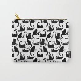 Bad Cats Knocking Stuff Over Carry-All Pouch