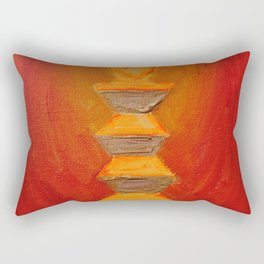 The monument of pain and infinite sadness Rectangular Pillow