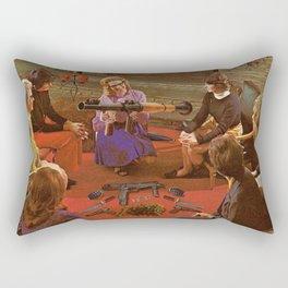 Aunt Daisy's Tea Party Rectangular Pillow