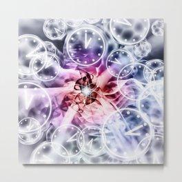 Quantum Reality - Multiple Universes - Relativity Theory Metal Print