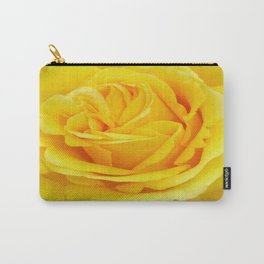Beautiful Yellow Rose Closeup Carry-All Pouch