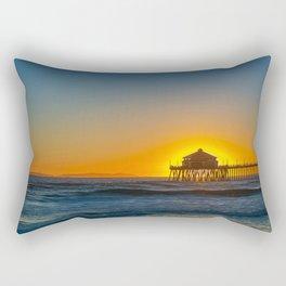 The Sun in Ruby's Rectangular Pillow