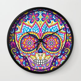 Sugar Skull (Simon) Wall Clock