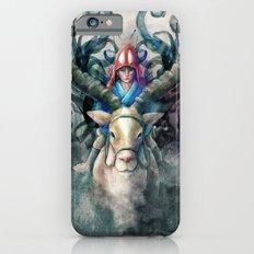 Ashitaka Demon Watercolor Digital Painting iPhone 6 Slim Case