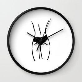 my back Wall Clock