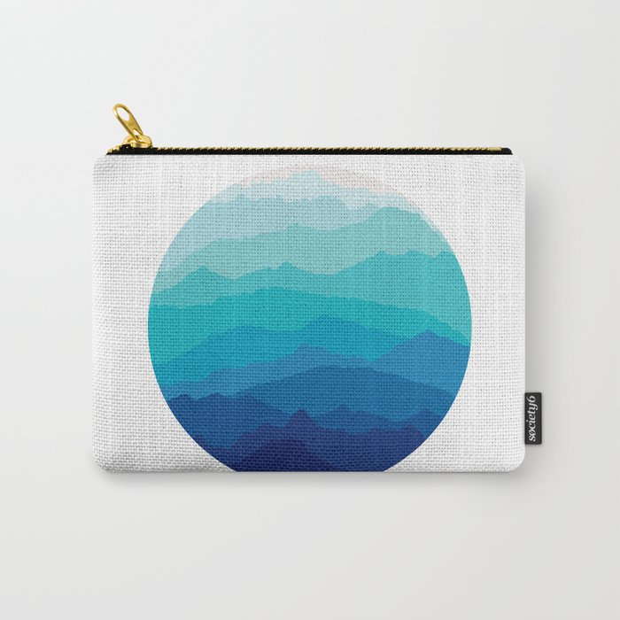 Blue Mist Mountains Carry-All Pouch