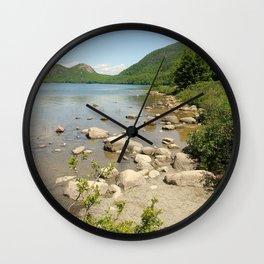 Maine photography Wall Clock