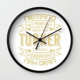 Gymnast Perfect Wall Clock