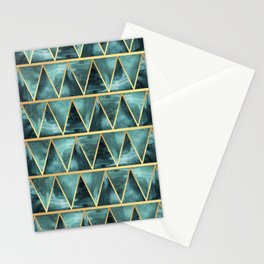 Green Nature Stationery Cards
