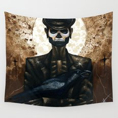 Shadow Man 2 Wall Tapestry